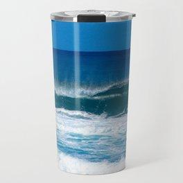 Pipeline Wave at North Shore Oahu  Travel Mug