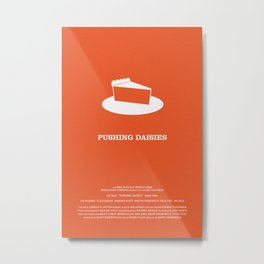 Pushing Daisies Metal Print