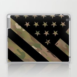 U.S. Flag: Military Camouflage Laptop & iPad Skin