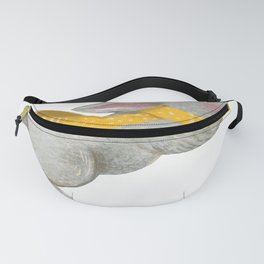 Christmas tale watercolor animal illustration Fanny Pack