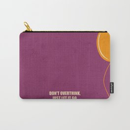 Lab No.4 -Don't Overthink Business Quotes Poster Carry-All Pouch