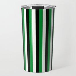 Team Color 4...green,black, white Travel Mug