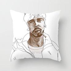 A good man Throw Pillow