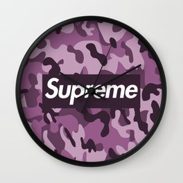 Camouflage-Supreme Wall Clock