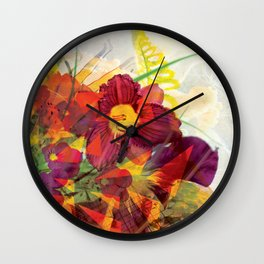 Dynomite! pillow 2 Wall Clock