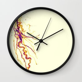 Electric Jelly Wall Clock