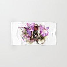 flower camera Hand & Bath Towel