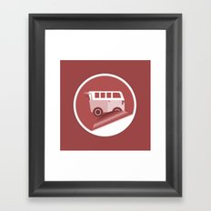 Mini Van Framed Art Print