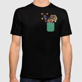 Pocket healer DJ T-shirt