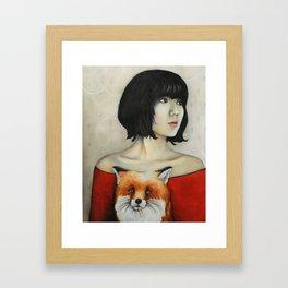 Nine Tales Of The Fox Framed Art Print