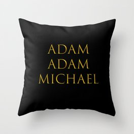 Bandmates III (Beast. B.) Throw Pillow