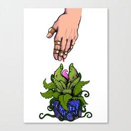 Feed Me Canvas Print
