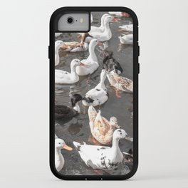 Duck Logic iPhone Case