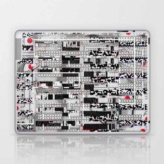 Opportunistic Species (P/D3 Glitch Collage Studies) Laptop & iPad Skin