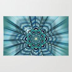 Lotus Mandala Rug
