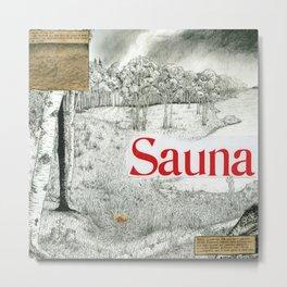Mount Eerie - Sauna Album Metal Print