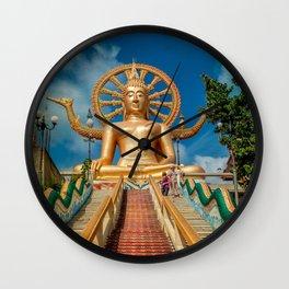 Lord Buddha Wall Clock