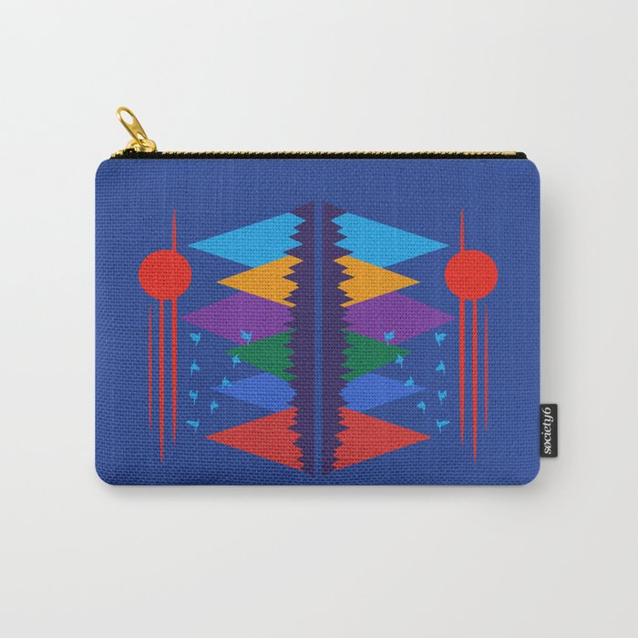 Mountain Scene #7 Carry-All Pouch
