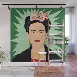 Frida Khalo (Green) | Bad Ass Women Series Wall Mural