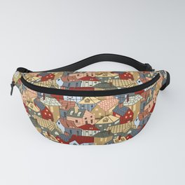 Houses Fanny Pack
