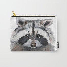 Rhubarb the Raccoon Carry-All Pouch