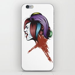 Color your life iPhone Skin