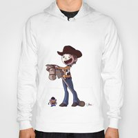 toy story Hoodies featuring Woody Toy Story by Kaori