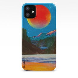 The Moon At The River iPhone Case