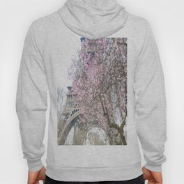 Paris in Springtime with the Eiffel Tower Hoody