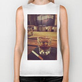 Whiskey & cigarettes Biker Tank
