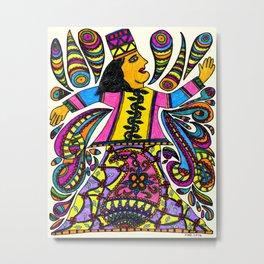 Dancing Sufi Metal Print