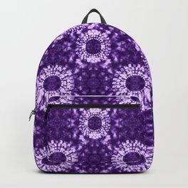 Shibori on Purple Backpack