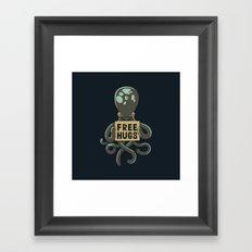 Free Hugs Octopus Framed Art Print
