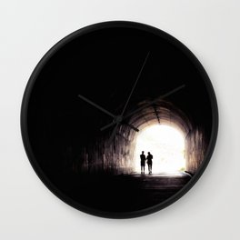 tunnel vision Wall Clock