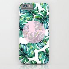 Monstera Pattern V1 #society6 #decor #buyart Slim Case iPhone 6s