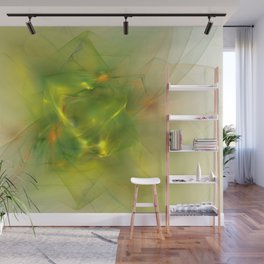 Folds In Paradise Wall Mural