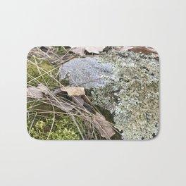 mossy prairie rock Bath Mat