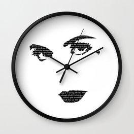 Primadonna Girl Wall Clock