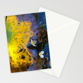 Two tadpoles Stationery Cards