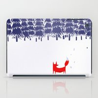 a lot of cats iPad Cases featuring Alone in the forest by Robert Farkas