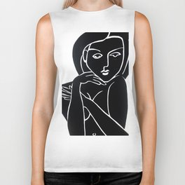Vanity Girl -  POP ART PAINTING GIANT PRINTS Nude Biker Tank