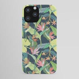 Tropical Bird of Paradise iPhone Case