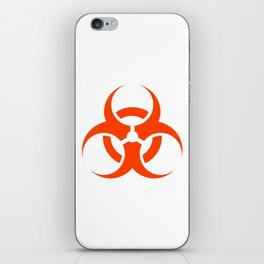 Biological Hazard Symbol iPhone Skin