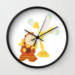 Tockins and lumiere Wall Clock