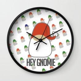 Hey gnomie Wall Clock