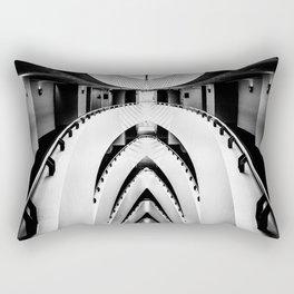 Hotel stairs. Rectangular Pillow