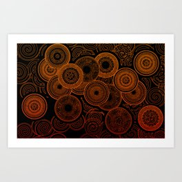 Electric Cooking Art Print