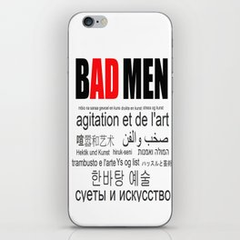 ADMEN iPhone Skin