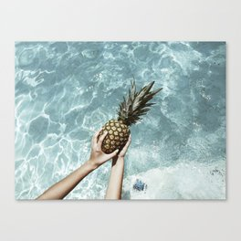 Neon Summer 3 Canvas Print