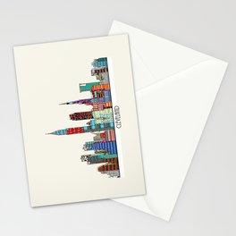 Cleveland city  Stationery Cards